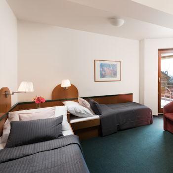 Pokoje a hotelový servis